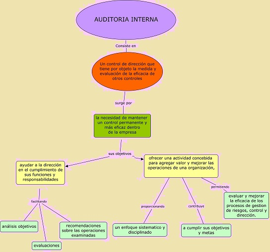 auditoria interna, esquema