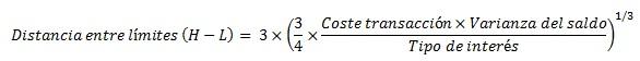 formula modelo de miller y orr