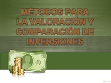 valoracion de inversiones